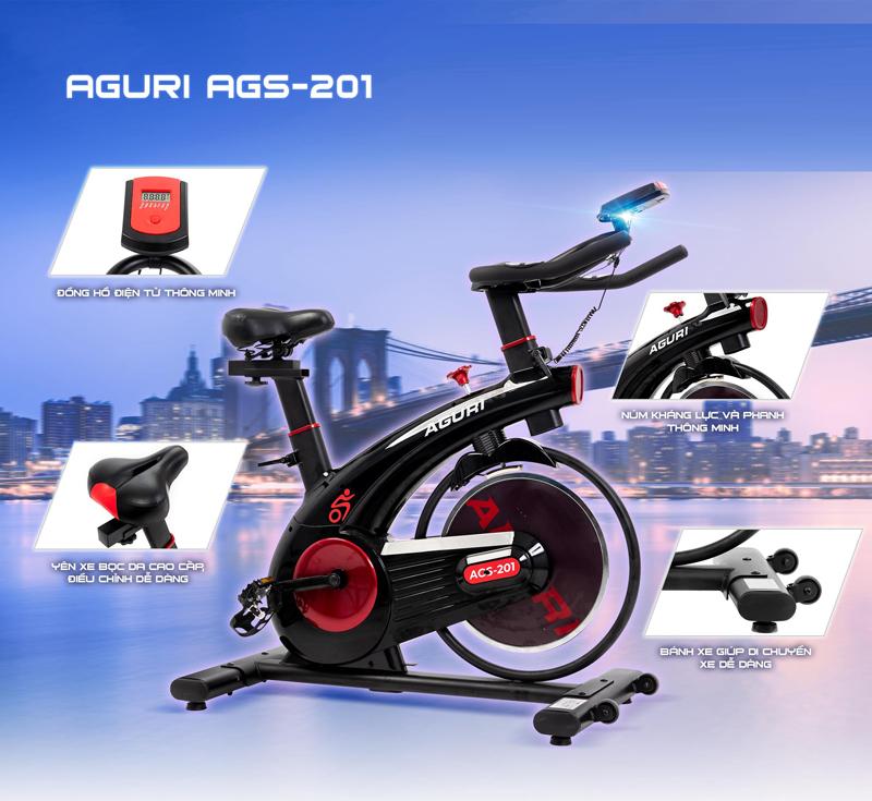Xe đạp tập thể dục Aguri 201