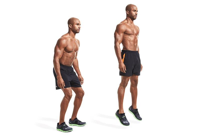 Bài tập cơ bắp chân