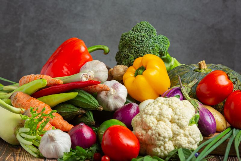 Khẩu phần ăn bữa tối dùng nhiều thực phẩm giàu chất xơ
