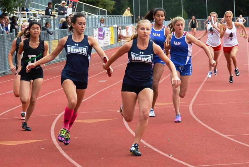 Cách trao – nhận gậy trong chạy tiếp sức 4x100m