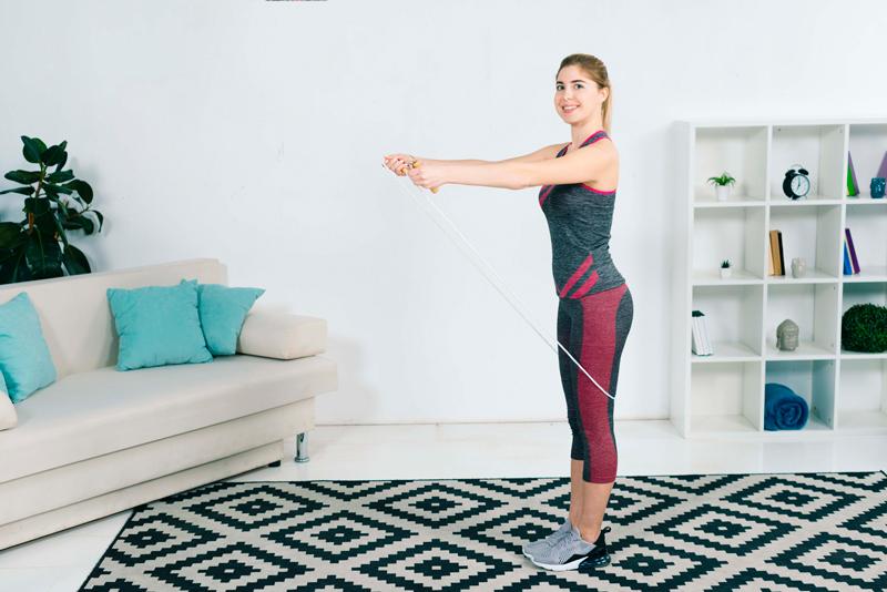 Chuẩn bị giày nhảy thể dục, trang phục phù hợp