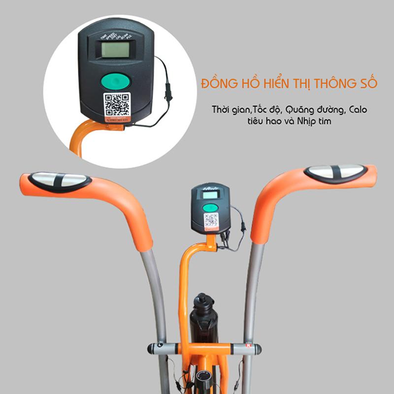 Đồng hồ xe đạp tập Aguri AGA-206PA