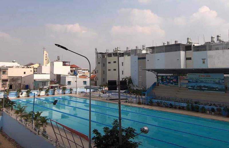 Hồ bơi Trung tâm văn hóa quận Gò Vấp