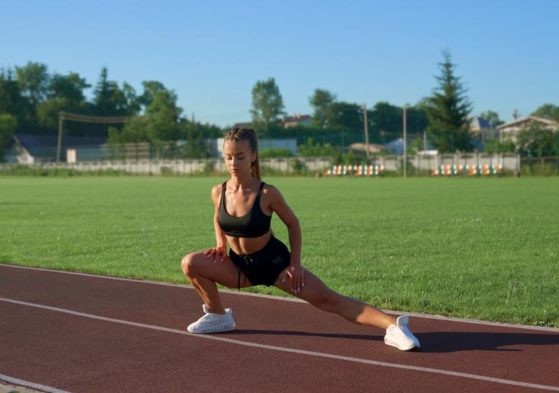 Khởi động trước khi chạy cự ly trung bình