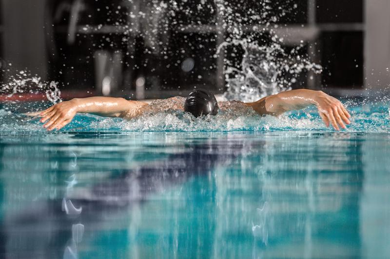 Kiểu bơi bướm cho tốc độ khá nhanh