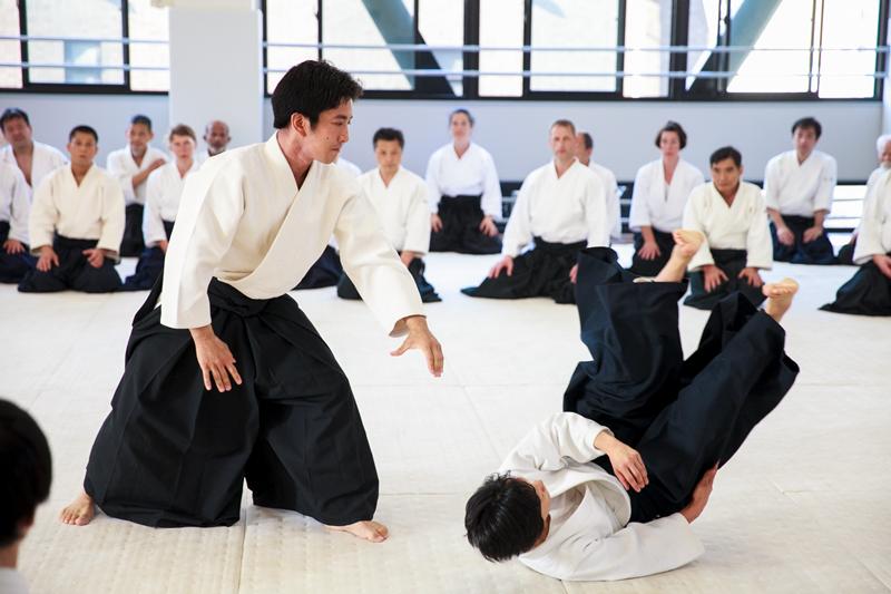 Lợi ích khi tập võ Aikido