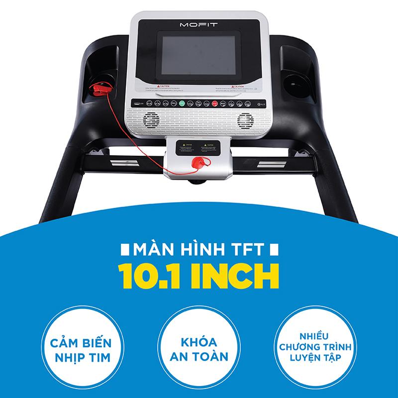 Máy chạy bộ điện Mofit Pro 925 đa năng Chính Hãng, Giá ưu đãi