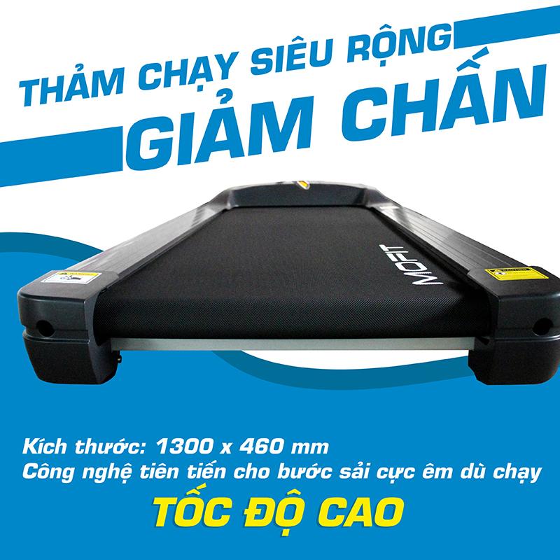 Máy chạy bộ điện Mofit PRO650 đa năng Chính Hãng, Giá Rẻ