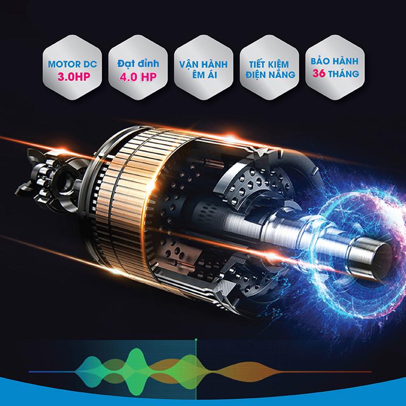Máy chạy bộ điện Mofit PRO905 Cao cấp, Chính Hãng, Giá Rẻ