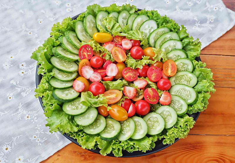 Cách chế biến Salad dưa chuột