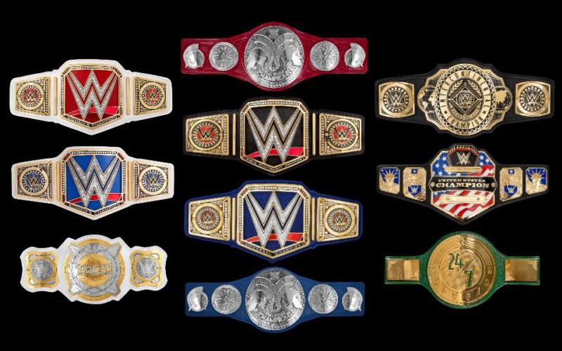 Các sàn đấu và những chiếc đại trong WWE