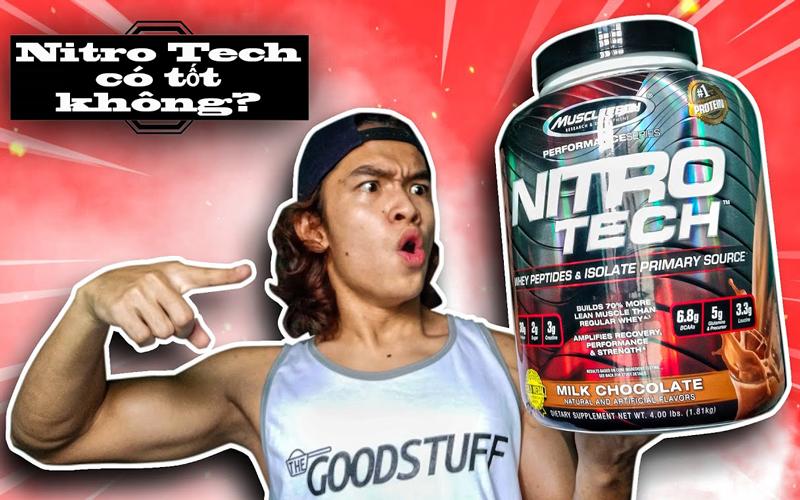 Nitro Tech có tốt không? TOP 5 loại sữa Nitro Tech cho Gymer