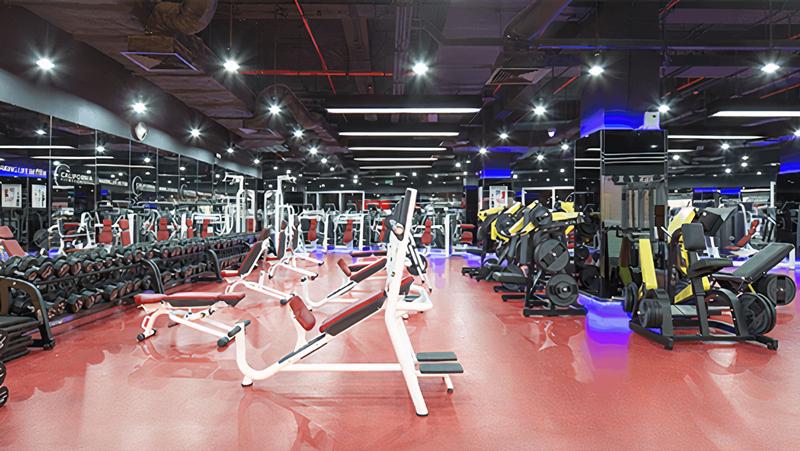Phòng tập California Fitness & Yoga Gò Vấp