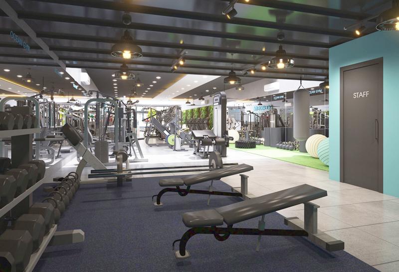 Phòng tập Ocean Gym Gò Vấp