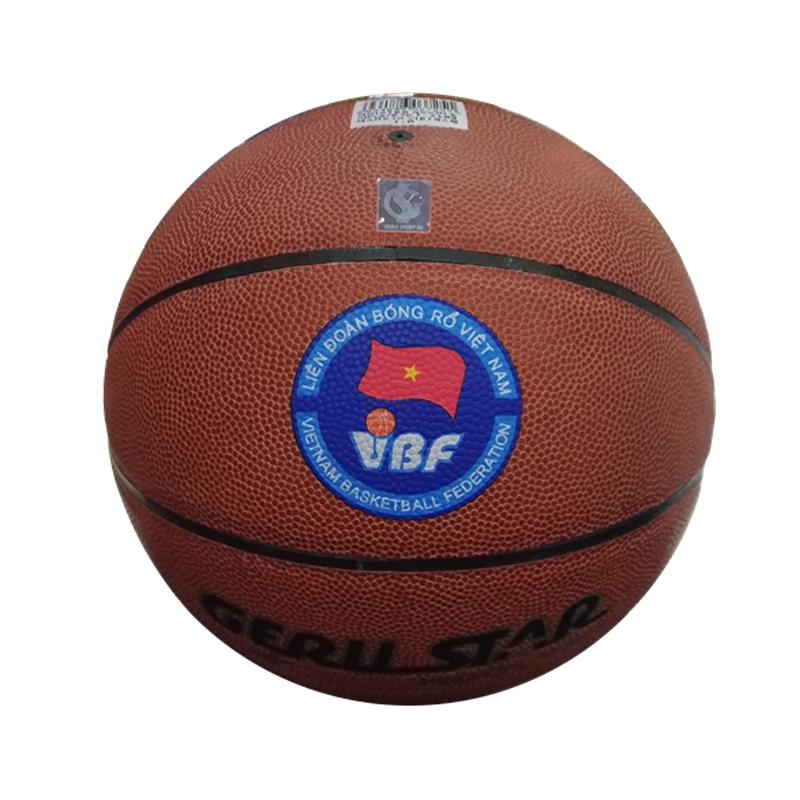 Quả bóng rổ Gerustar PVC Champion số 7 Chính Hãng, Giá Rẻ