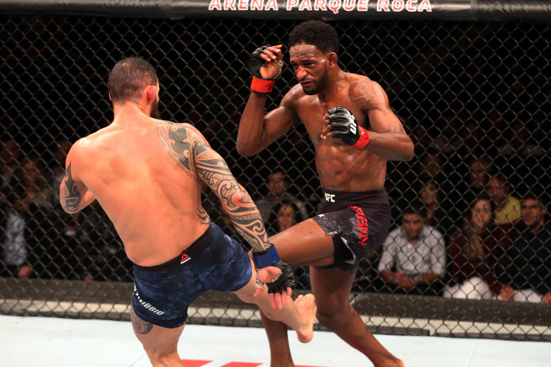 Các hạng cân thi đấu trong MMA