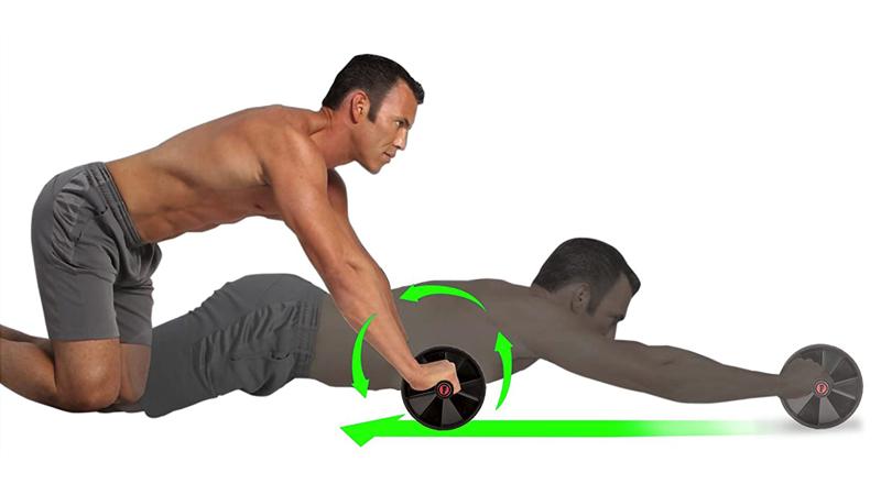 Hướng dẫn cách sử dụng con lăn tập bụng đúng cách, hiệu quả