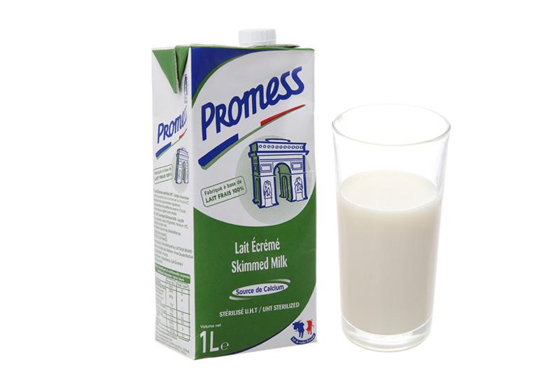 Sữa tươi Promess tách béo