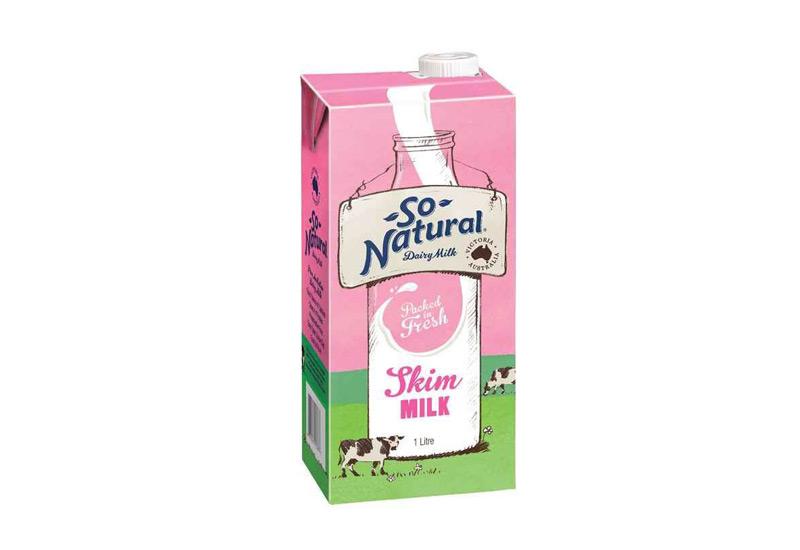 Sữa tươi tách béo So Natural
