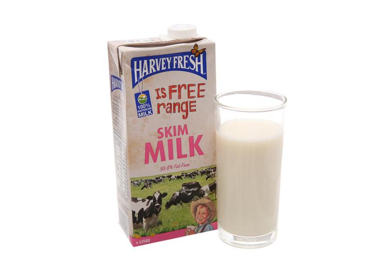 Sữa tươi tiệt trùng ítbéo Harvey Fresh