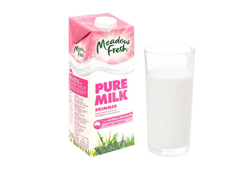 Sữa tươi tiệt trùng tách béo Meadow Fresh