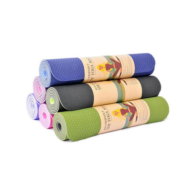 Thảm Tập Yoga Cao Cấp TPE Loại Dày 5, 6, 8 Ly & Giá Tốt Nhất