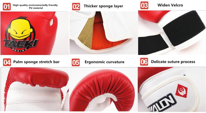 Thiết kế găng tay Boxing Taeki trẻ em