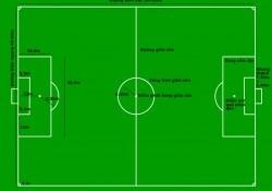 [Tìm hiểu] Kích thước sân bóng đá 5, 7 và 11 người chuẩn FIFA